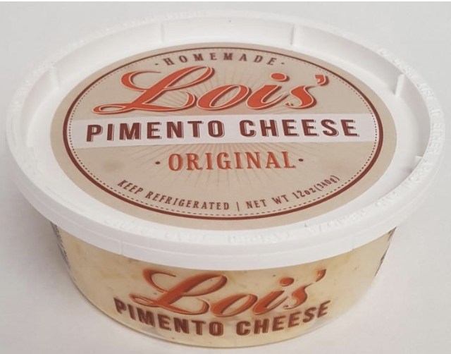Lois' Pimento Cheese & Lois' Pimento Cheese with Jalapenos